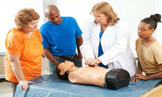 Heartsaver First Aid training by Premier Health Ed